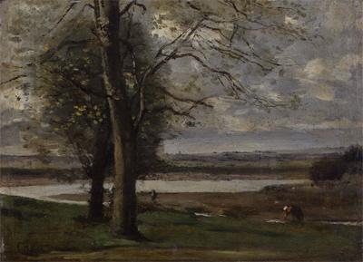 《オルレアン風景》