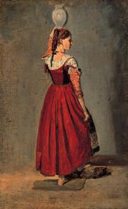 《イタリアの女》 1826-28年 油彩・カンヴァス
