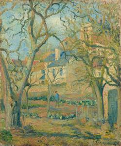 《菜園》 1878年 油彩・カンヴァス