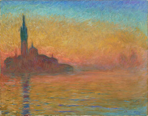 《黄昏、ヴェネツィア》 1908年頃 油彩・カンヴァス