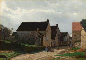 《森へ行く女たち》 1866年 油彩・カンヴァス