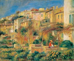 《カーニュのテラス》 1905年 油彩・カンヴァス