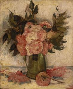《花》 1886年頃 油彩・カンヴァス