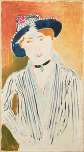 《縞ジャケット》 1914年 油彩・カンヴァス