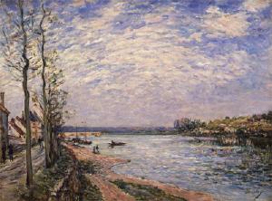 《サン=マメスのラ・クロワ=ブランシュ》 1884年 油彩・カンヴァス