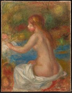 《水浴の女》 1907年頃 油彩・カンヴァス
