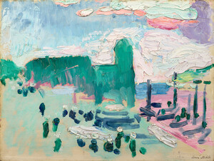 《コリウール》 1905年 油彩・厚紙