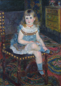 Mlle Georgette Charpentier Seated