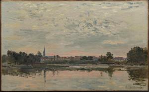 《アルジャントゥイユ》 1874年 油彩・カンヴァス