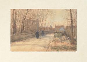 《グレーの橋》 1902年 水彩・紙