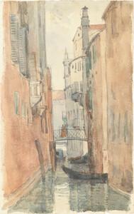 《ヴェネツィア》 1902年 水彩・紙