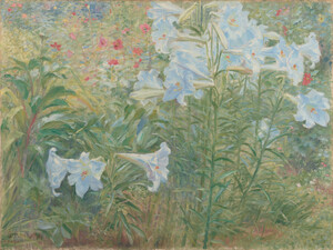 《Lilies》 1909 Oil on canvas