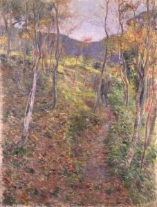 《Woodsman》  Oil on canvas