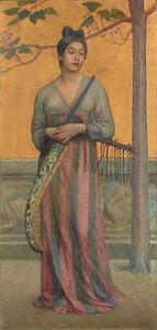 《天平の面影》 1902年 油彩・カンヴァス