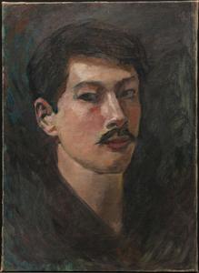 《自画像》 1903年頃 油彩・カンヴァス