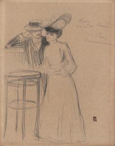 《素描》 1906-07年 鉛筆・紙