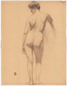 《裸婦》 1906-07年 鉛筆・紙