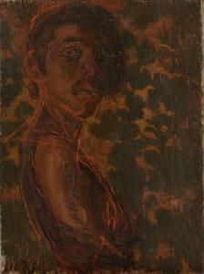 《自画像》 1903年 油彩・カンヴァス