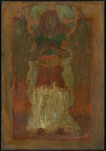 《闍威弥尼》 1903年 油彩・板