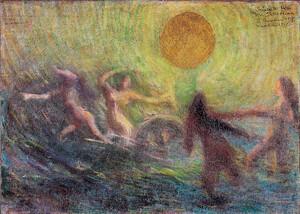 《輪転》 1903年 油彩・カンヴァス