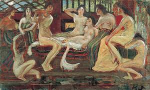《天平時代》 1904年 油彩・カンヴァス