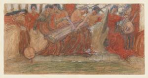 《春》 1904年 水彩、パステル・紙