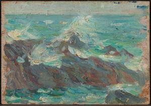 《海》 1904年 油彩・板
