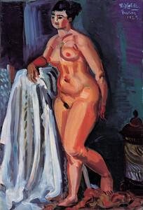 《裸婦》 1925年 油彩・カンヴァス