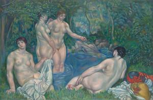 《水浴裸婦》 1914年 油彩・カンヴァス