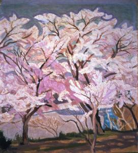 《桜》 1946年 油彩・カンヴァス