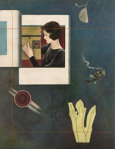 《単純な哀話》 1930年 油彩・カンヴァス