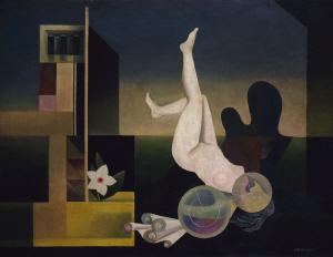 《厳しき伝統》 1931年 油彩・カンヴァス