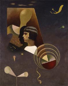 《感傷の静脈》 1931年 油彩・カンヴァス