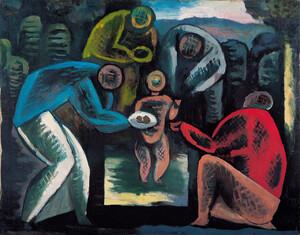 《誕生》 1924年 油彩・カンヴァス