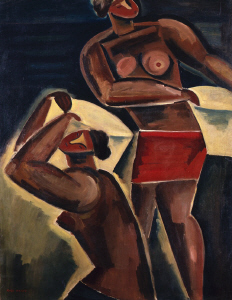 《海女》 1923年 油彩・カンヴァス