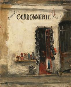 《コルドヌリ(靴屋)》 1925年 油彩・カンヴァス