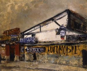 《ガラージュ》 1927-28年 油彩・カンヴァス
