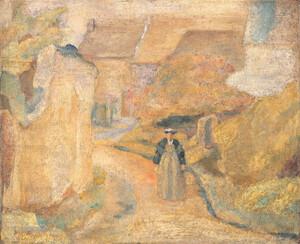 《パリ郊外》 1923年 油彩・カンヴァス