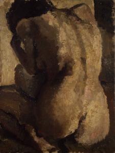 《裸婦》 1913年 油彩・カンヴァス