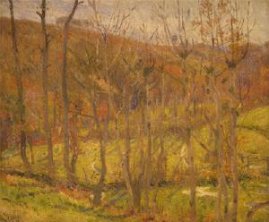 《風景》 1911年 油彩・カンヴァス