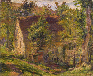 《水車小屋》 1911年頃 油彩・カンヴァス