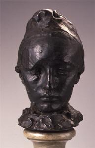 《カミーユ・クローデル》 1889年 ブロンズ