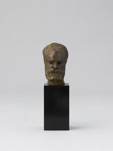 《ユゴーの顔》 鋳造:1963年頃 ブロンズ