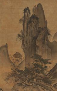 四季山水図(春幅)