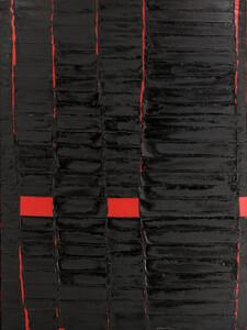 《連続の溶解9》 1964年 油彩、アクリル・カンヴァス