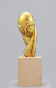 《ポガニー嬢II》 1925年(2006年鋳造) 磨かれたブロンズ